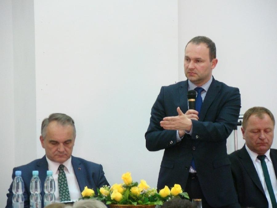 Marszałek Hetman z wizytą w powiecie ryckim