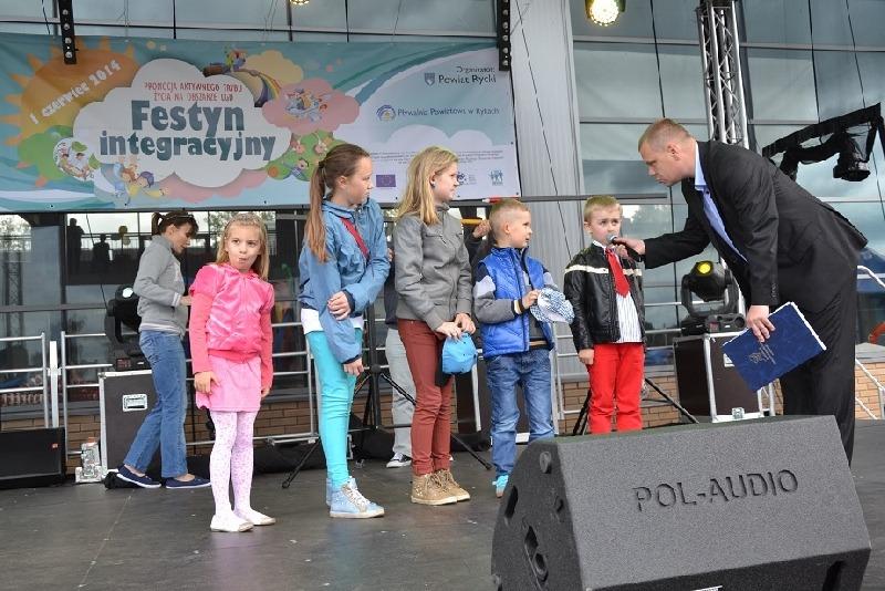 Festyn integracyjny z okazji Dnia Dziecka