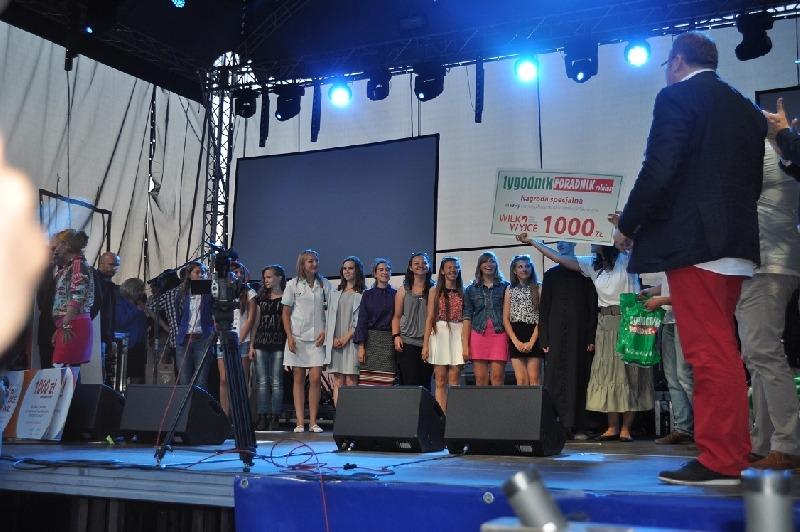 """Reprezentacja LGD """"Lepsza Przyszłość Ziemi Ryckiej"""" w finale III Festiwalu Piosenki Ranczerskiej """"Wi"""