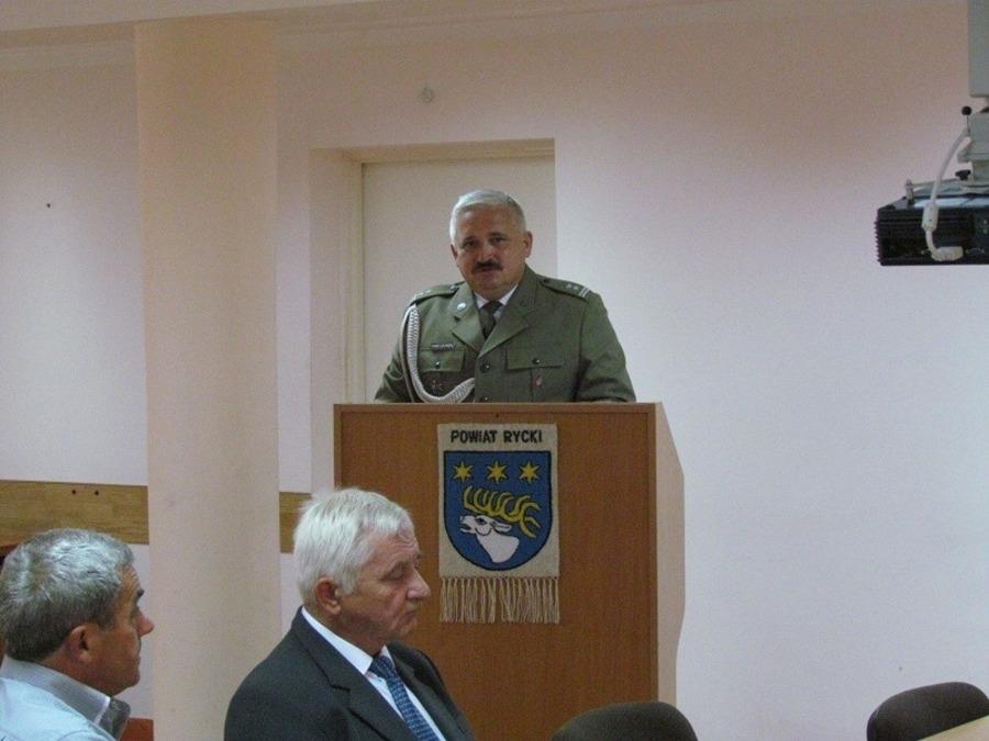 Wręczenie aktów mianowania na wyższe stopnie wojskowe