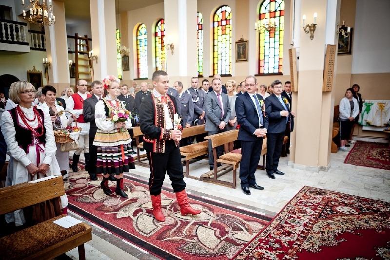 Powiatowe Święto Plonów w Nowodworze