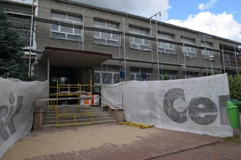 Budynek ILO w Rykach po remoncie