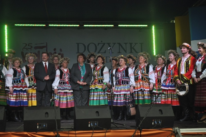 Wieniec dożynkowy z gminy Stężyca zajął III miejsce na Dożynkach Prezydenckich w Spale