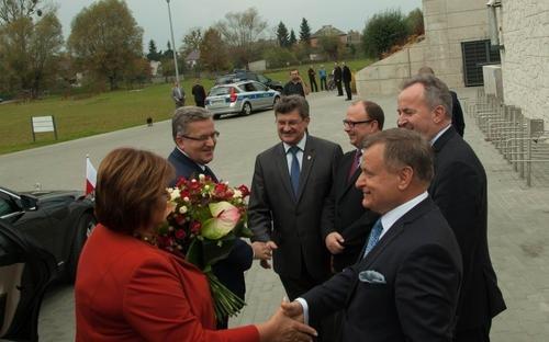 Prezydent RP spotkał się z mieszkańcami powiatu