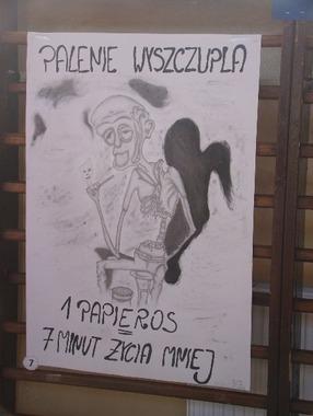 I Powiatowy Konkurs Antynikotynowy