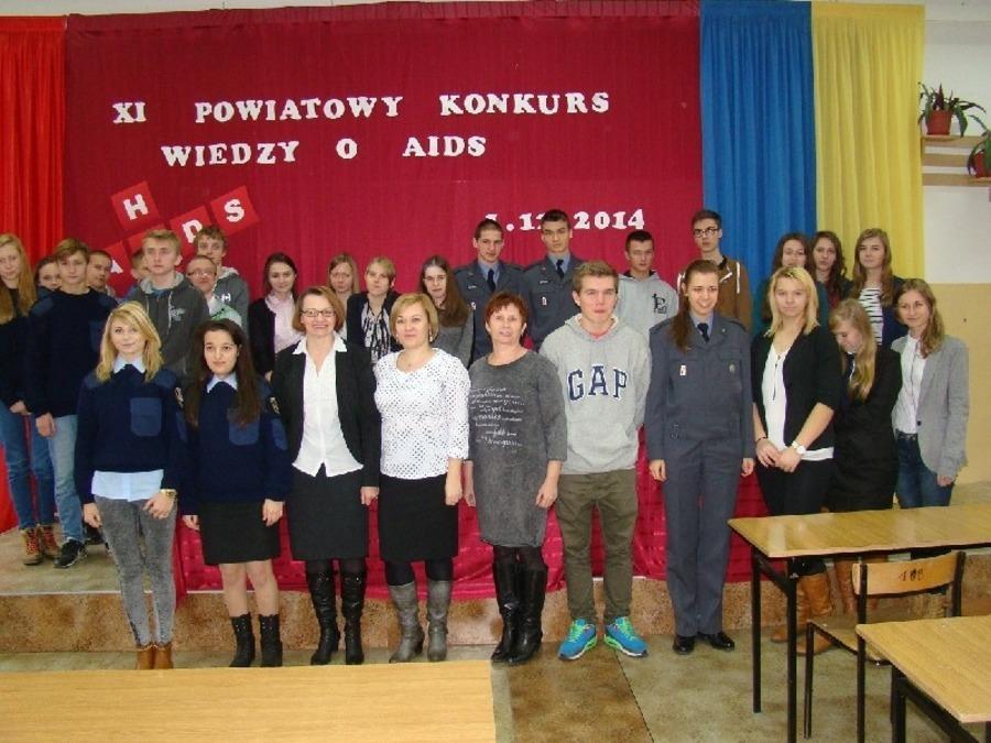 XI Powiatowy Konkurs Wiedzy o AIDS