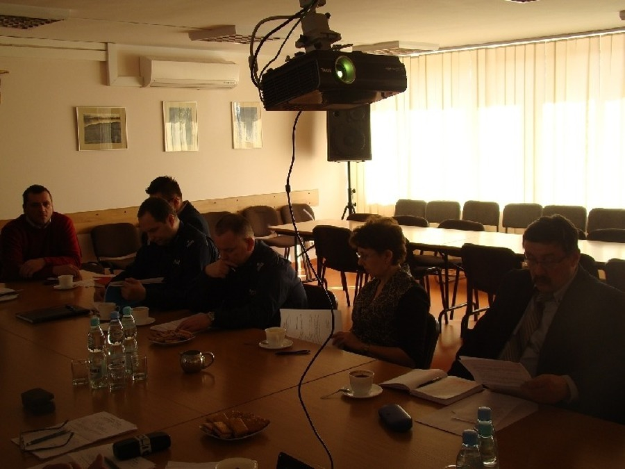 Posiedzenie Komisji Bezpieczeństwa i Porządku Starosty