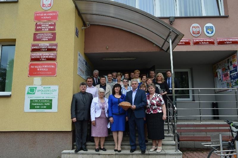 Delegacja Rejonu Kowelskiego z wizytą w Powiecie Ryckim