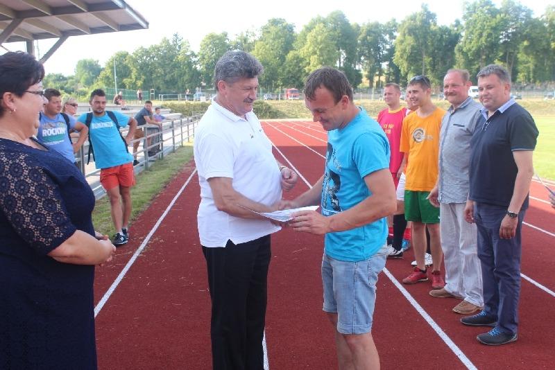 Powiatowy turniej piłki nożnej drużyn strażackich