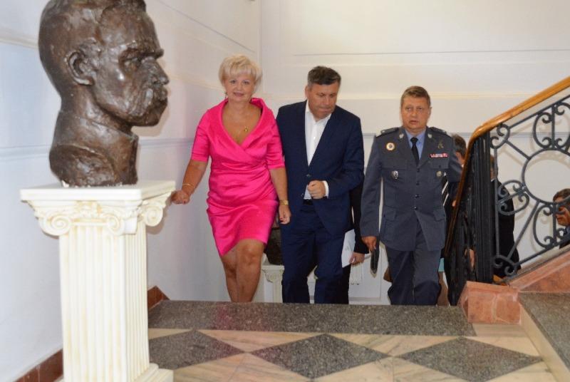 Wicepremier, Minister Gospodarki Janusz Piechociński z wizytą w Powiecie Ryckim