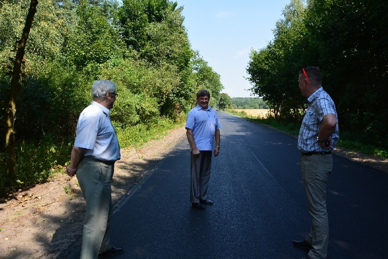 Przebudowa dróg powiatowych na terenie miasta Dęblin i gminy Ryki