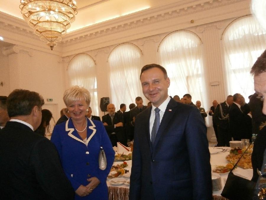 Prezydent RP na inauguracji roku akademickiego w Dęblinie