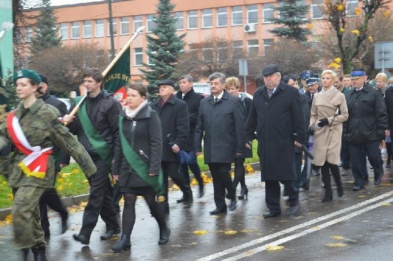 Powiatowe Uroczystości Upamiętniające 97. Rocznicę Odzyskania przez Polskę Niepodległości