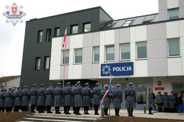 OTWARCIE NOWEJ SIEDZIBY KOMENDY POWIATOWEJ POLICJI W RYKACH