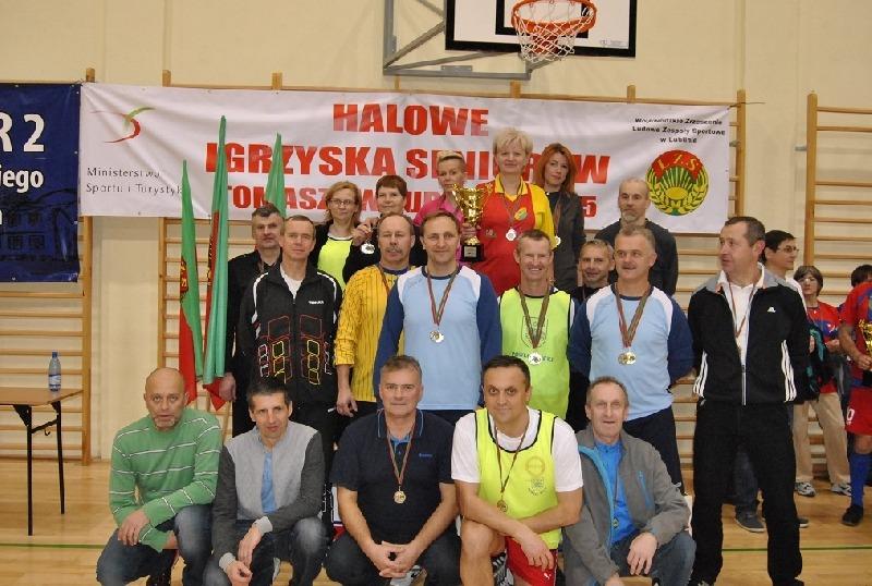 Halowe Igrzyska Seniorów 2015