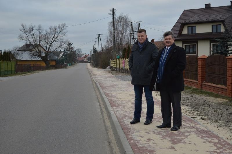Modernizacja dróg powiatowych na terenie gminy Stężyca