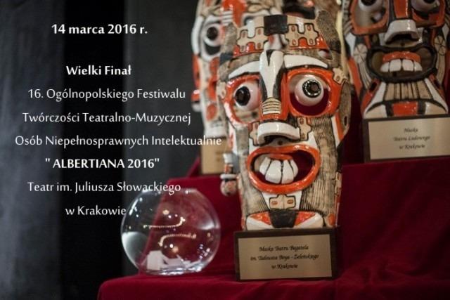 """Grupa teatralna z ryckich WTZ w finale """"ALBERTIANY 2016"""""""