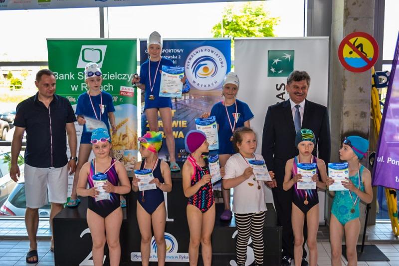 IV Powiatowe Zawody Pływackie o Puchar Przewodniczącej Rady Powiatu oraz Starosty Ryckiego