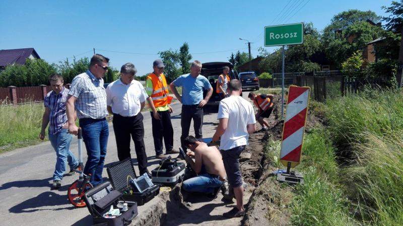 Pierwsza fotorelacja z największej od 16 lat inwestycji drogowej Powiatu Ryckiego