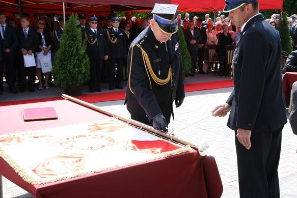 Obchody 60-lecia Powstania Zawodowej Straży Pożarnej w Rykach