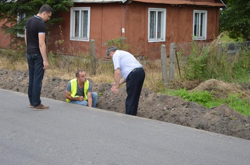 Druga fotorelacja z największej od 16 lat inwestycji drogowej Powiatu Ryckiego