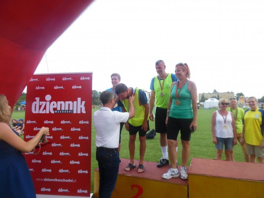Miejsce I w Letnich Igrzyskach Seniorów wywalczyli sportowcy z Powiatu Ryckiego.