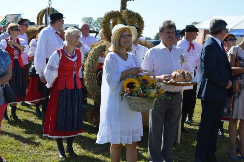 Wieniec z Powiatu Ryckiego na podium wojewódzkiego konkursu dożynkowego
