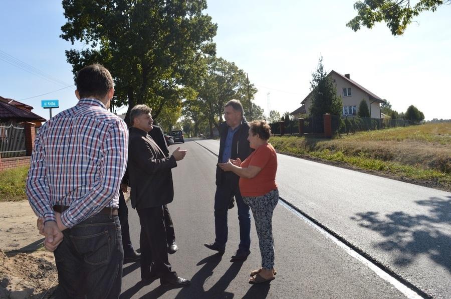 Trzecia fotorelacja z największej od 16 lat inwestycji drogowej Powiatu Ryckiego