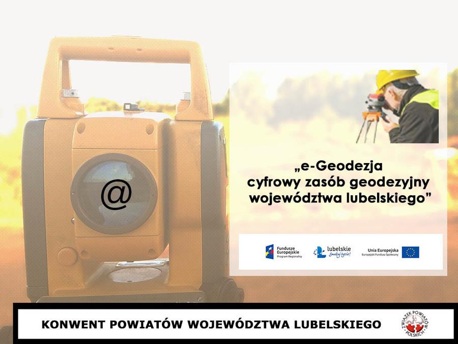 e – Geodezja – cyfrowy zasób geodezyjny Województwa Lubelskiego