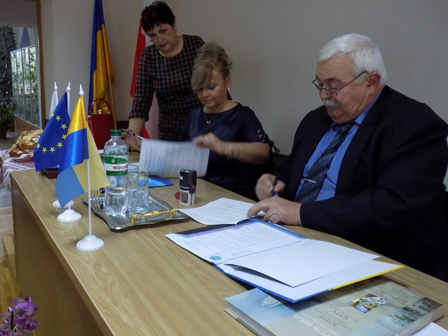 Wizyta delegacji powiatu ryckiego
