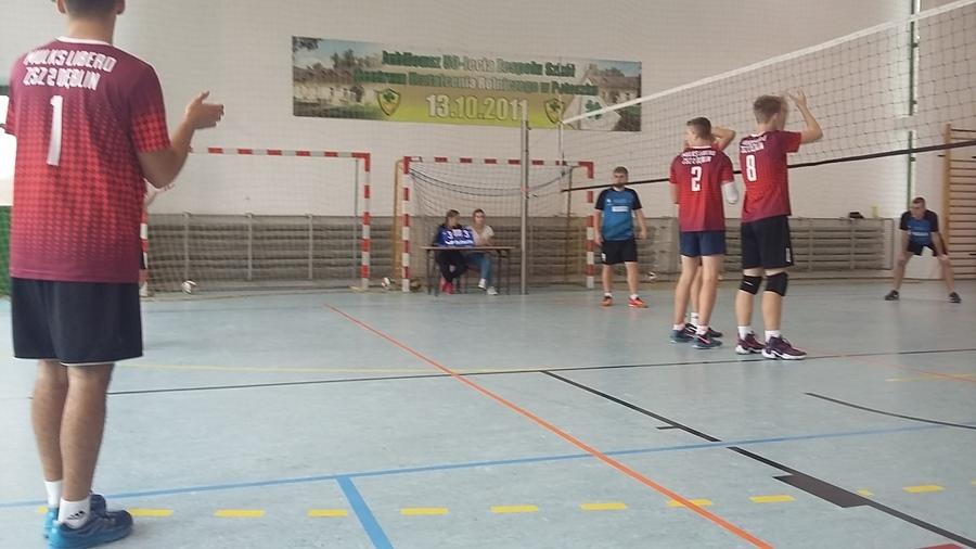 Mistrzostwa województwa LZS w piłce siatkowej chłopców