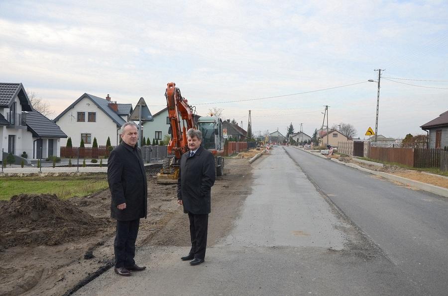 Przebudowa drogi wojewódzkiej nr 801 na terenie gminy Stężyca
