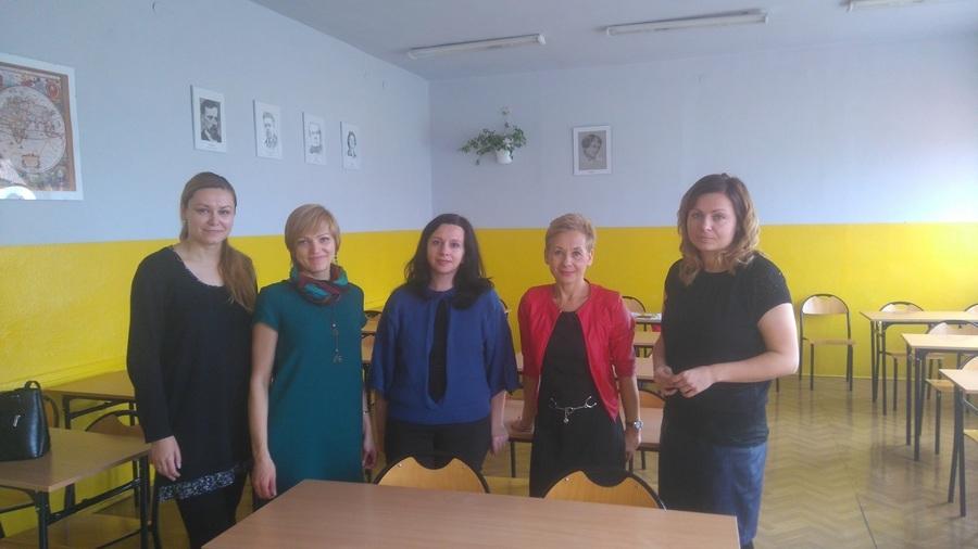 """Wizyta pracowników Poradni Psychologicznej """"Insigt"""" z Brześcia z Białorusi"""