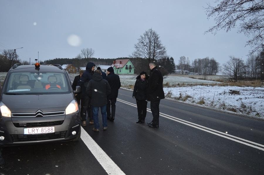 Największa w dziejach powiatu inwestycja drogowa zakończona