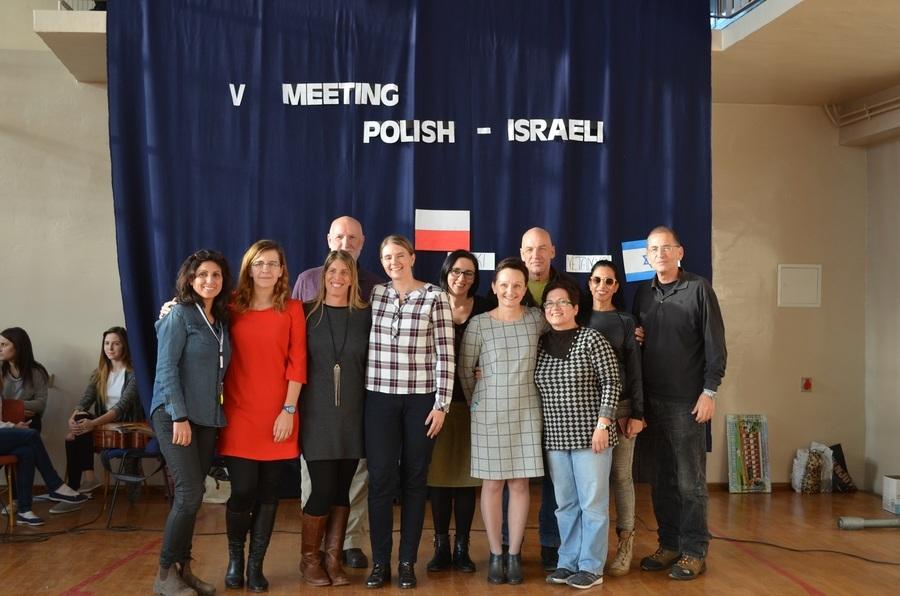 V SPOTKANIE POLSKO - IZRAELSKIE W I LO W RYKACH