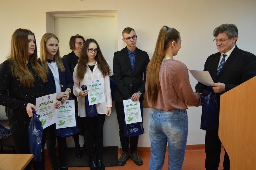 """<p>Rozstrzygnięcie konkursu """"Promujmy ekologię w Powiecie Ryckim""""</p>"""