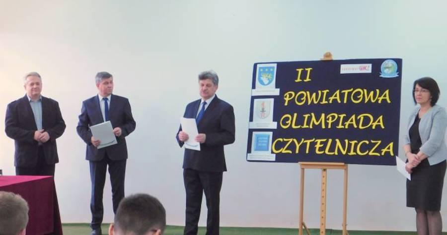 """II Powiatowa Olimpiada Czytelnicza """"LEKTURY ? OK !"""" już za nami."""