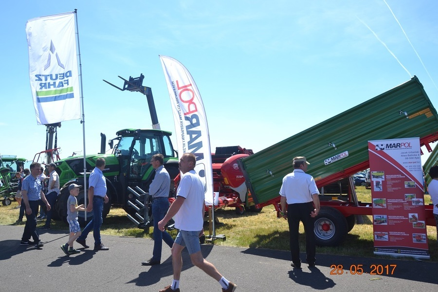 Wystawa ZIELONE AGRO SHOW 2017
