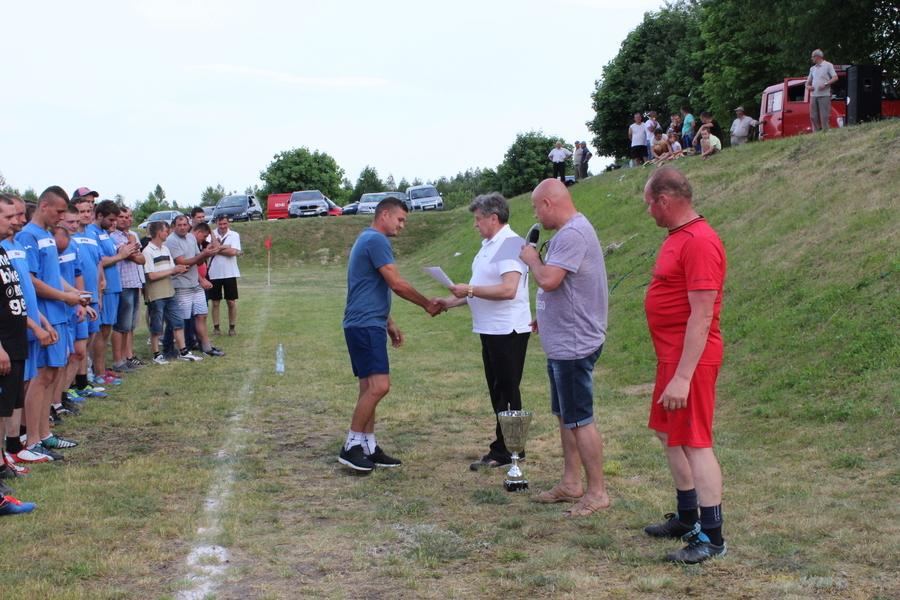 VIII Powiatowy Turniej Piłki Nożnej Drużyn Strażackich o Puchar Starosty Ryckiego- Nowodwór 4 czerwc