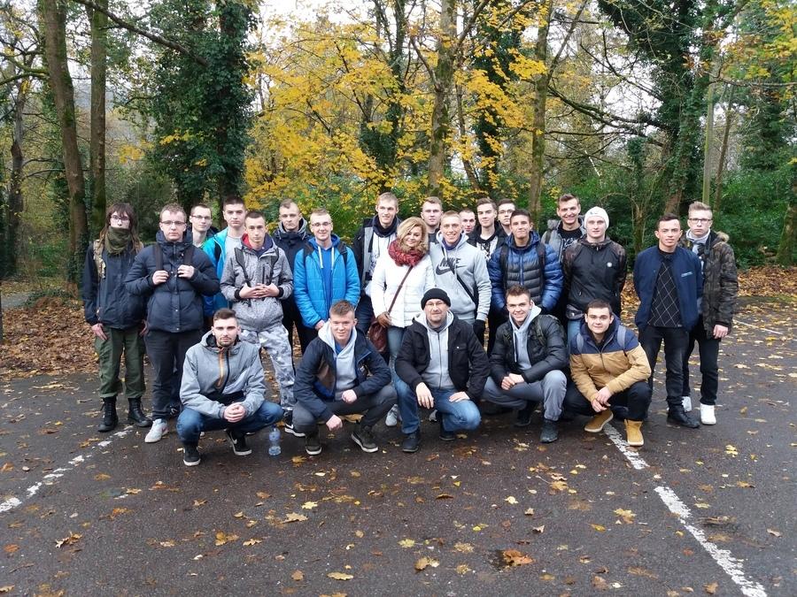Uczniowie z ZSZ nr 1 w Dęblinie na praktykach w Irlandii