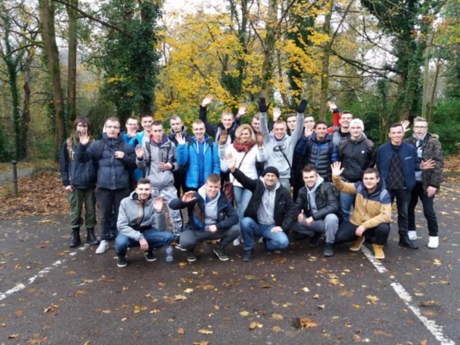 Uczniowie ZSZ nr 1 w Dęblinie zwiedzają Irlandię- rozdział I Killarney