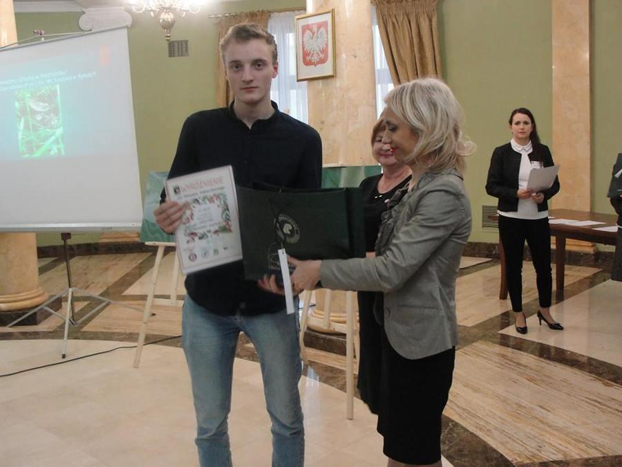 Uczeń ZSZ nr 1 w Rykach laureatem konkursu fotograficznego