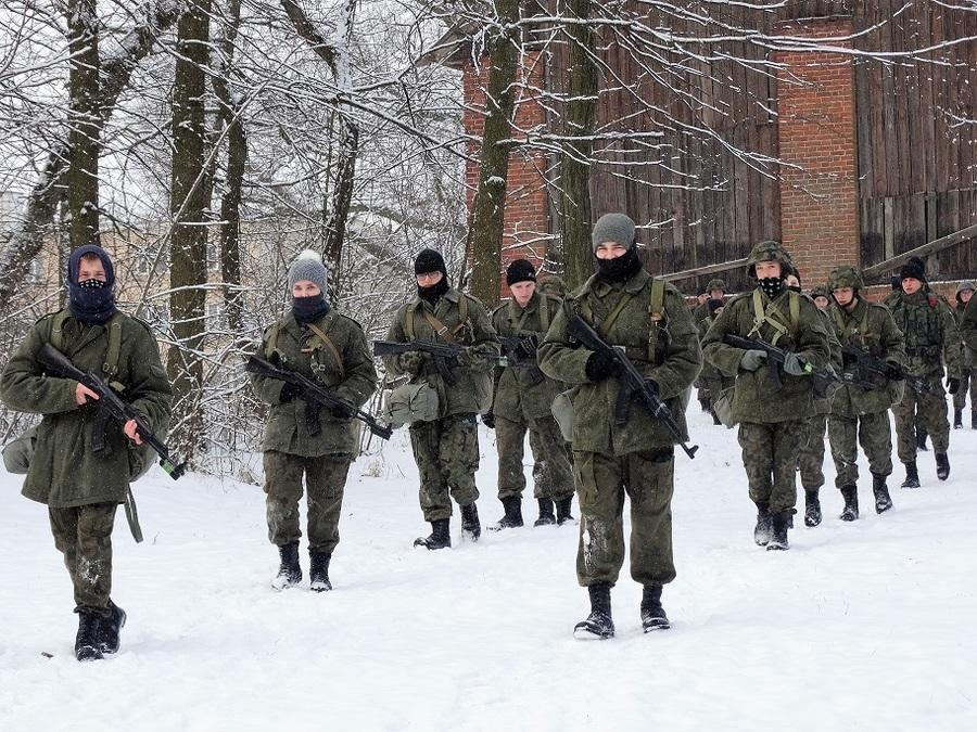 Zimowe zgrupowanie i pożegnanie ppłk Sprawki