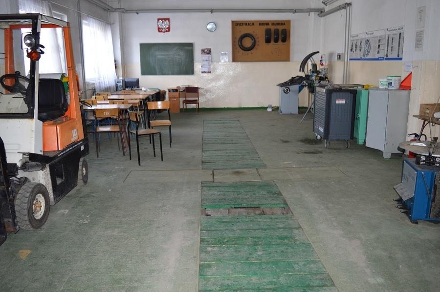 Zespół Szkół Zawodowych nr 1 w Rykach - stan przed realizacją projektu