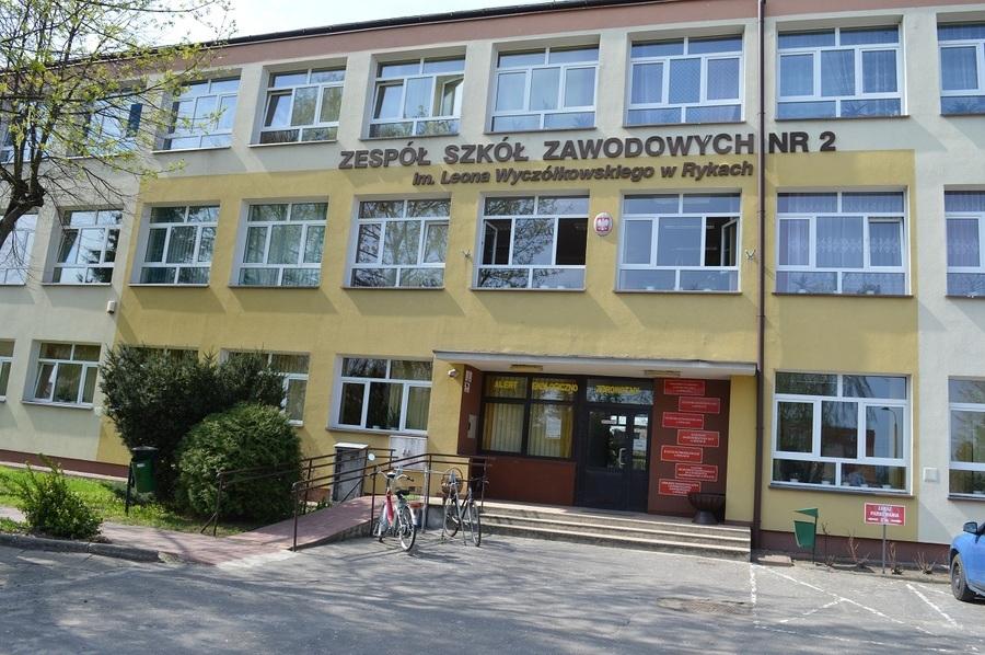 Zespół Szkół Zawodowych nr 2 w Rykach  – stan przed realizacją projektu