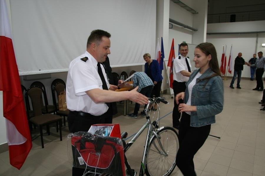 """Nazwa nowejEliminacje wojewódzkie XLI Ogólnopolskiego Turnieju Wiedzy Pożarniczej  ph. """"Młodzież Zap"""