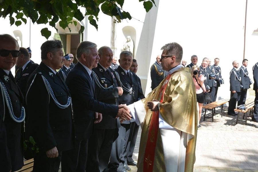 Wojewódzkie obchody Dnia Strażaka oraz jubileusz OSP Łęczna