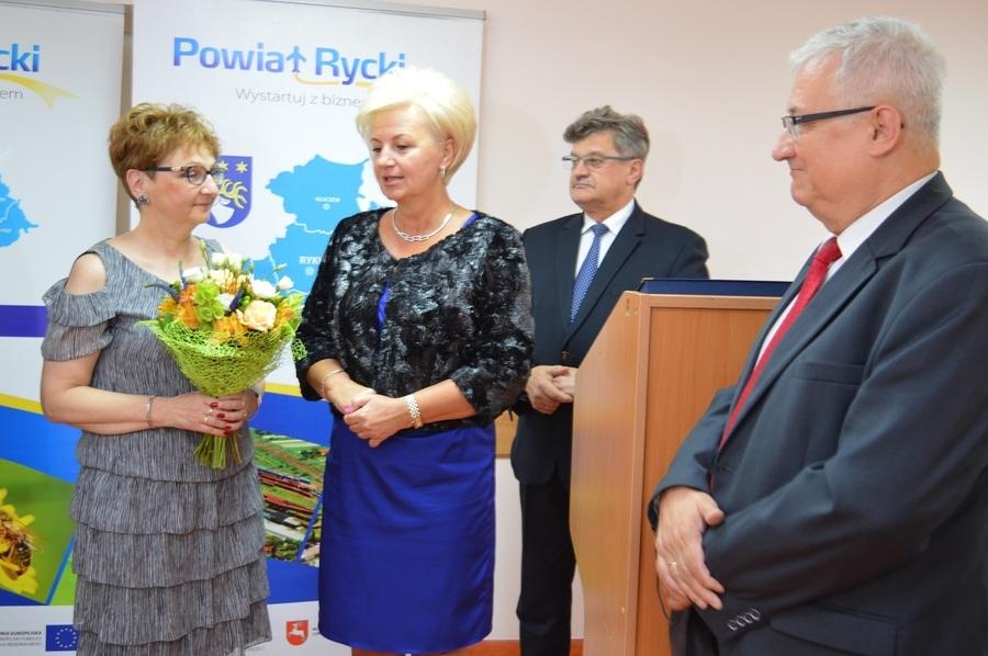 Dyrektor ZSZ nr 2 w Dęblinie przeszła na emeryturę