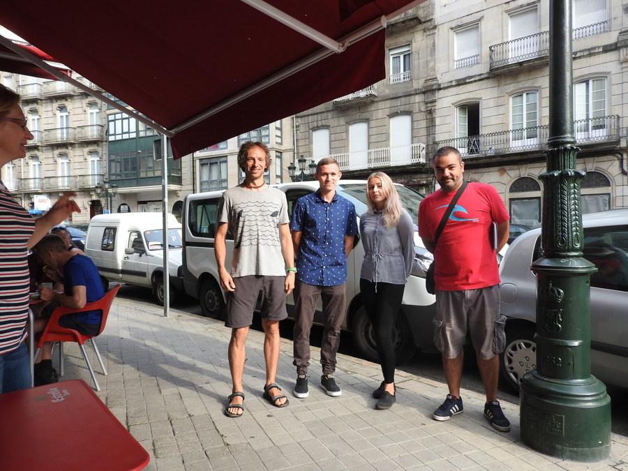 Pierwsze dni w Hiszpanii uczniów ZSZ nr 2 w Dęblinie