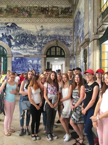 Uczniowie ZSZ nr 2 w Dęblinie poznają Półwysep Iberyjski